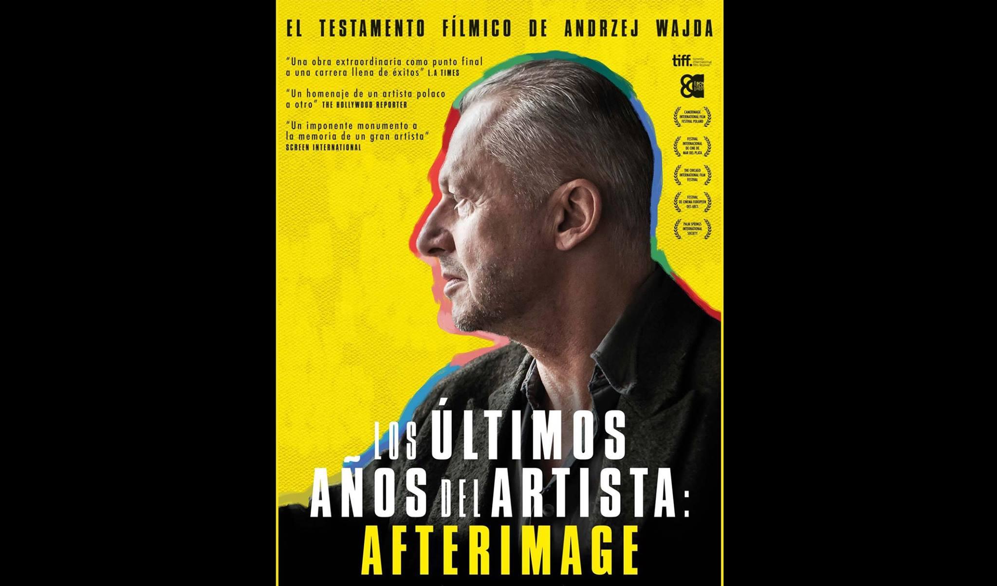 Los ultimos anyos del artista Afterimage