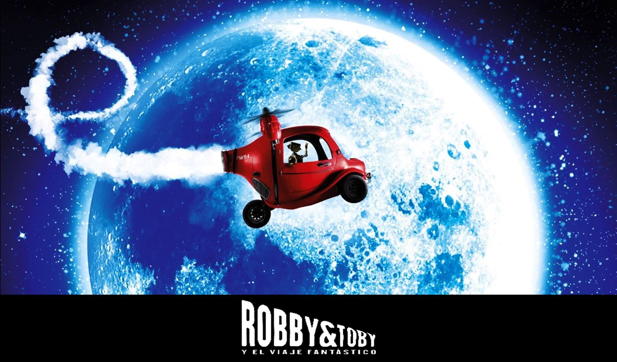 Robby y Toby en el viaje fantastico